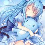 【非・微エロ】寝てる/眠そうな女の子に癒される画像まとめ