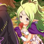 【エロ】小さなお口で一生懸命しごいてくれる姿がたまらない虹フェラ画像まとめ その3