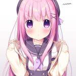 【非・微エロ】日曜日のピンク髪美少女画像まとめ その21