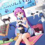 【非・微エロ】日曜日の紫髪美少女画像まとめ その45