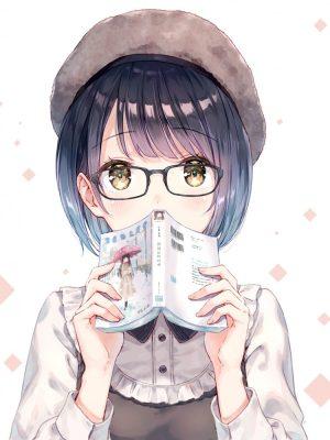 【非・微エロ】メガネを外さなくてもしっかり可愛い女の子画像まとめ その5