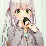 【非・微エロ】正確にはシルバーウィークじゃないけど銀髪・白髪美少女のお食事画像をまとめました