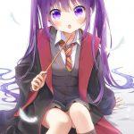 【非・微エロ】日曜日の紫髪美少女画像まとめ その67