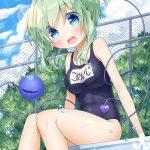 【非・微エロ】木曜日の緑髪美少女画像まとめ その69