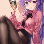 【非・微エロ】日曜日の紫髪美少女画像まとめ その77
