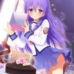 【非・微エロ】日曜日の紫髪美少女画像まとめ その80