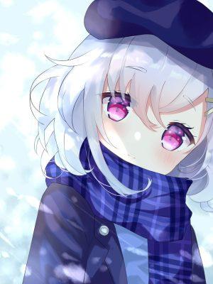 【非・微エロ】日曜日の銀髪・白髪美少女画像まとめ その79