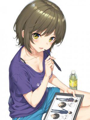 【非・微エロ】木曜日の緑髪美少女画像まとめ その77