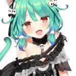 【非・微エロ】木曜日の緑髪美少女画像まとめ その89