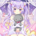 【非・微エロ】日曜日の紫髪美少女画像まとめ その88