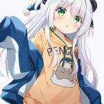 【非・微エロ】日曜日の銀髪・白髪美少女画像まとめ その107