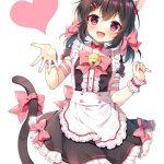 【非・微エロ】ネコミミ美少女に癒される画像まとめ その15