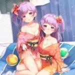 【非・微エロ】日曜日の紫髪美少女画像まとめ その113
